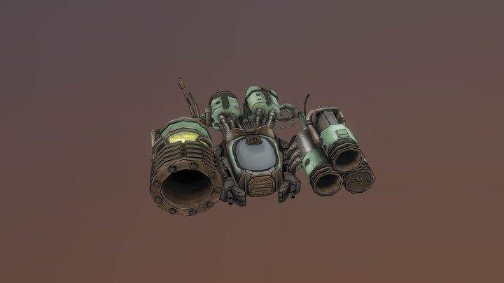 Defender 3D Model
