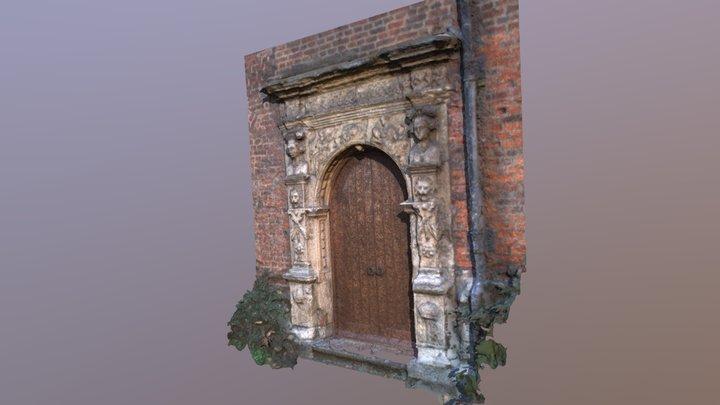 King's Manor Door 3D Model