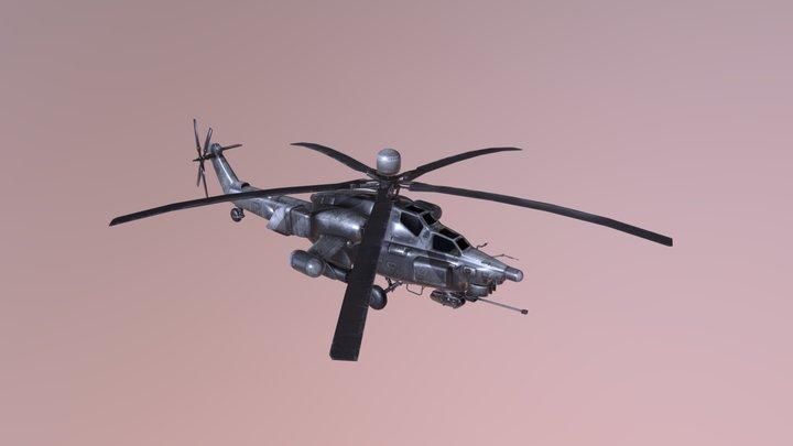 Mi-28 Low 3D Model