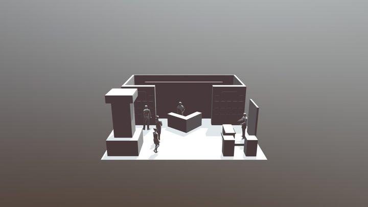Exhibit Scene DME 3D Model