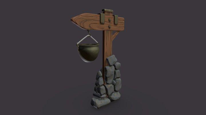 Roadsign 3D Model