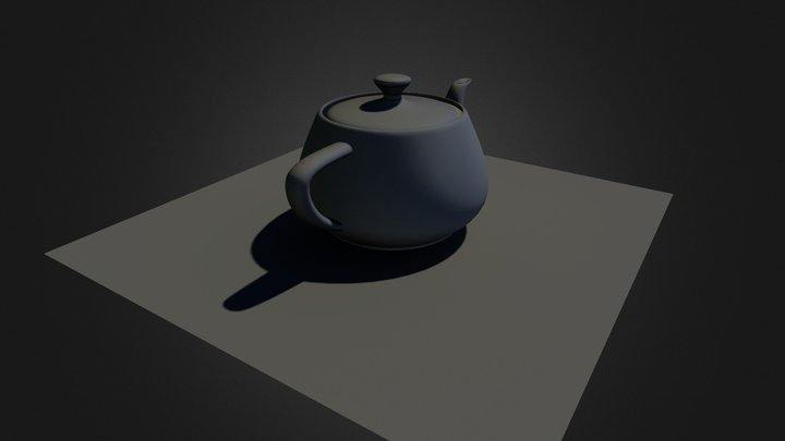 Tea Pot Multi sub02 3D Model