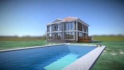 Manor countryhouse villa 3D Model