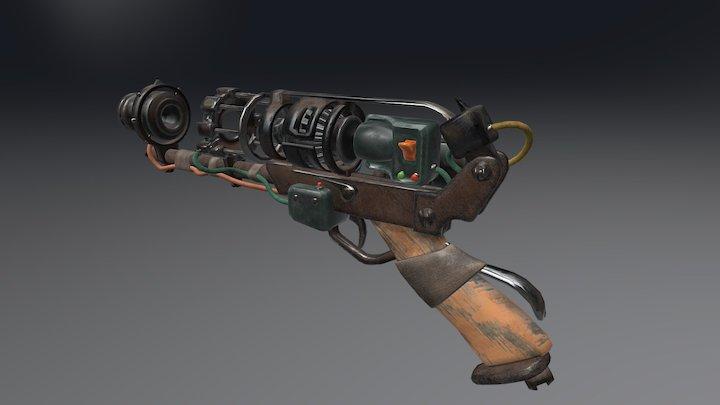 Workshop laser pistol 3D Model