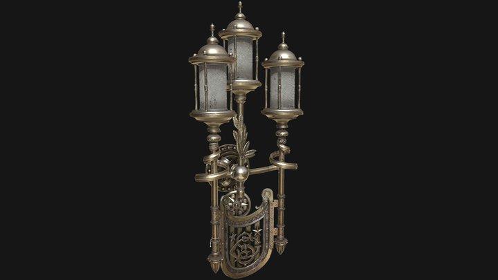 Lamp Display Test 3D Model