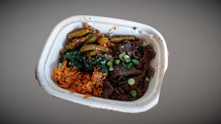 Korean Comfort Food 3D Model