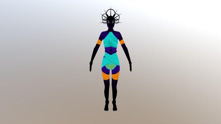 Zeerava 3D Model