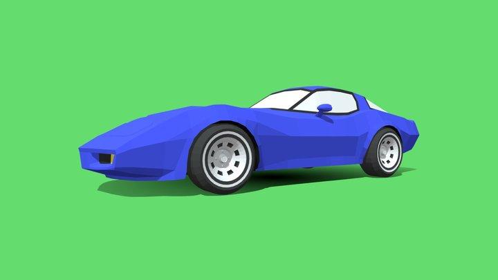 Chevrolet Corvette 1980 R 3D Model