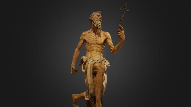 Saint Jerome 3D Model