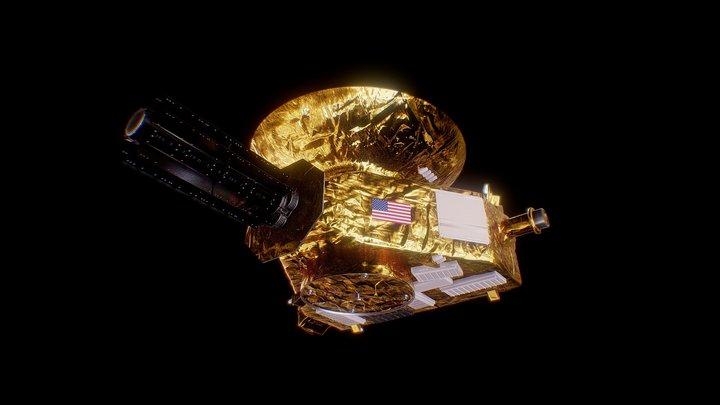 New Horizons Probe 3D Model
