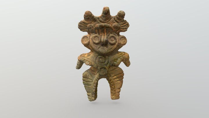 土偶 Dogu (clay figure) SC_B001 3D Model