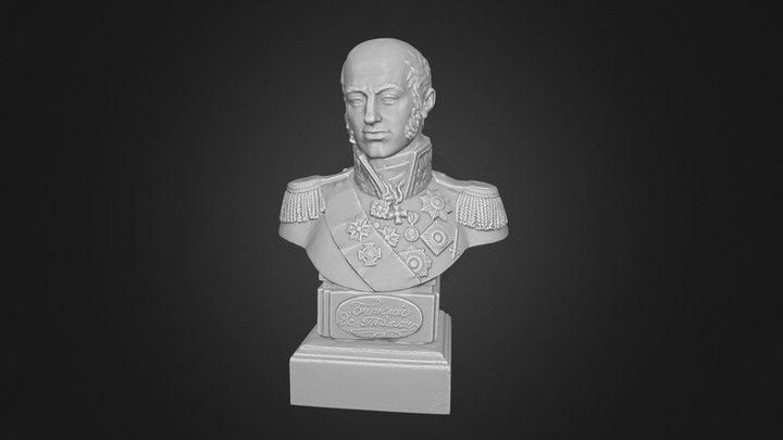 Barclay de Tolly 3D Model