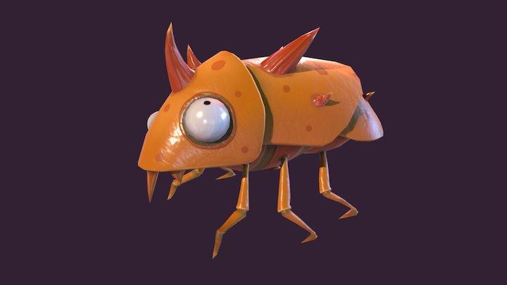 Flea from Psychonauts - ITROR 3D Model