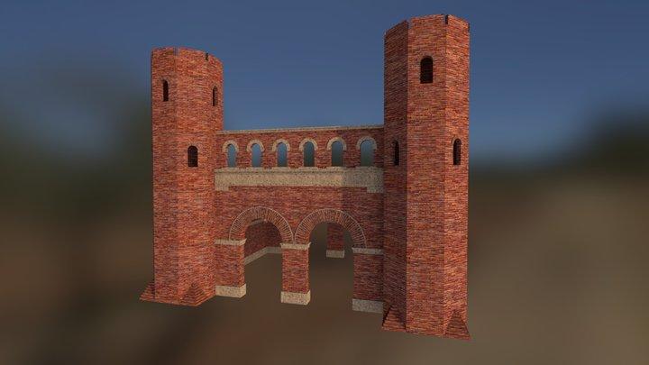 Libarna - Porta urbica 3D Model