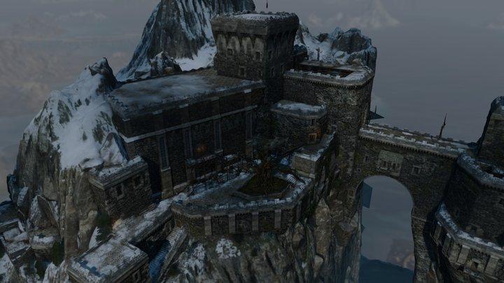 Kaer Trolde Citade, VR ready 3D Model