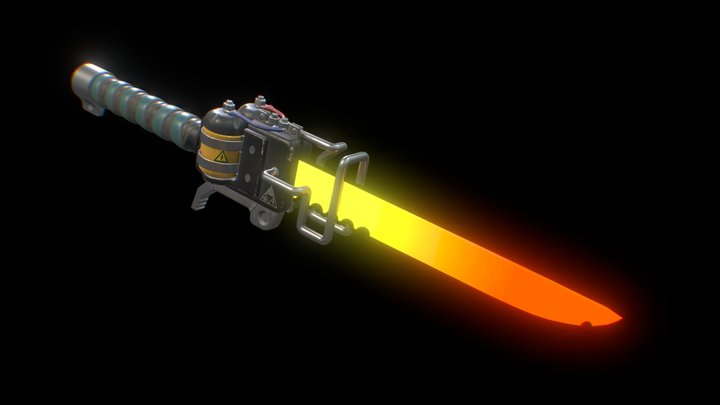 ⚔️ Induction blade Super-heated ⚔️ 3D Model