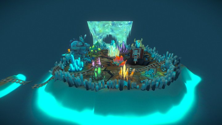 icecave 3D Model