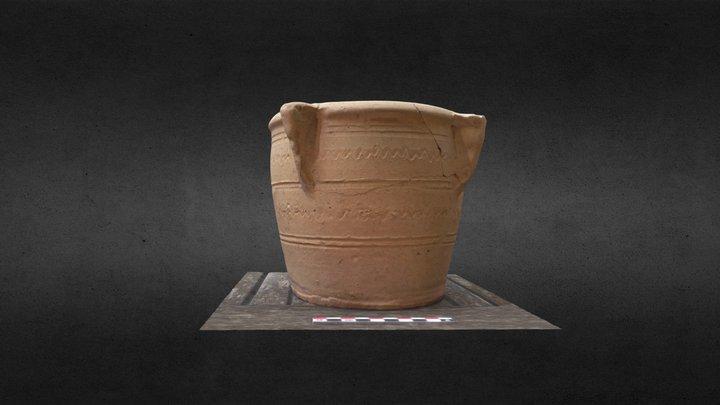 Mortero mudéjar-morisco del Durdur (Aspe) 3D Model