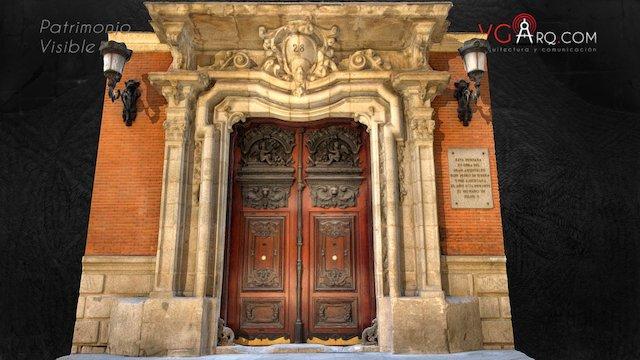 Portada barroca Palacio Santoña S.XVIII Madrid 3D Model