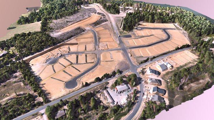 Residential Development near Elgin, SC 3D Model