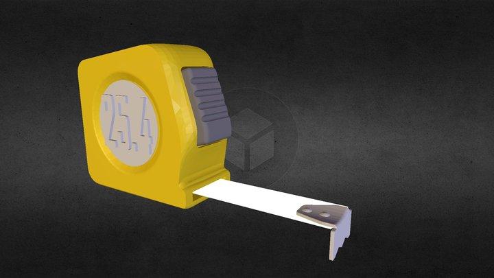 3D-MeasuringTape 3D Model