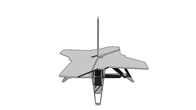 5070 Marguerite 3D Model