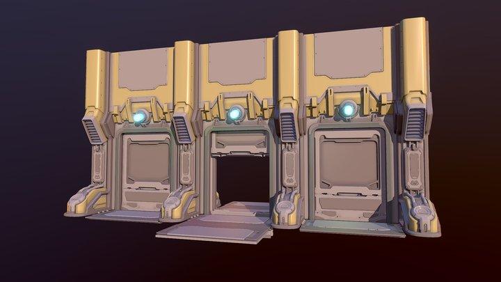 Detailed Draft 01 3D Model