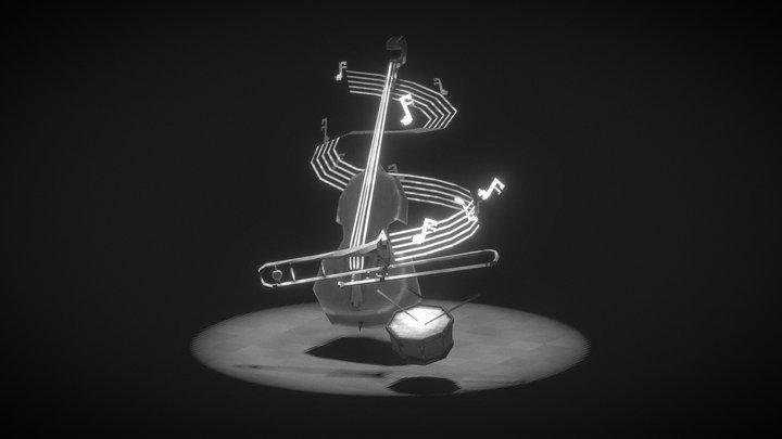 Swing | 3D Inktober 2019 3D Model