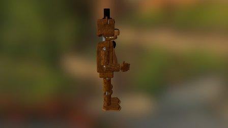 Freddy Fazbear - MrLordSith V1 3D Model
