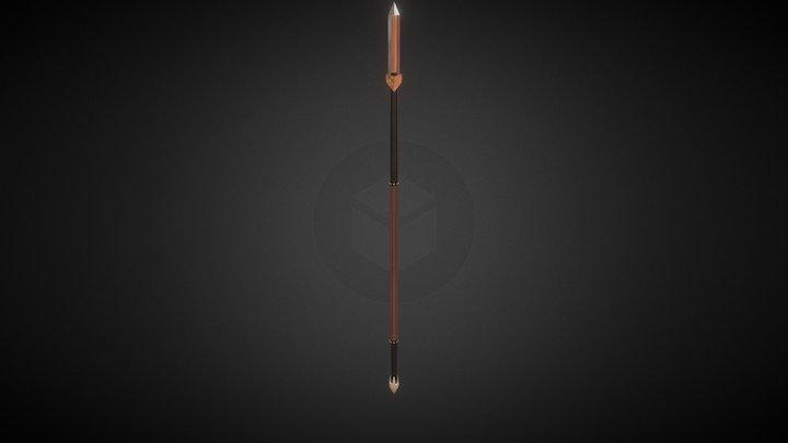 Tenno Spear 3D Model