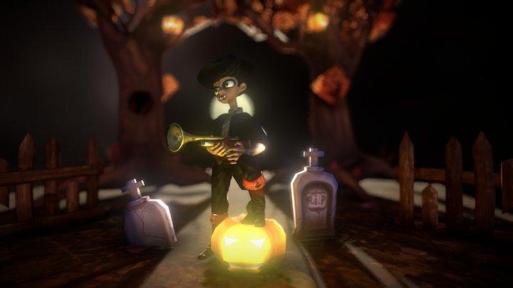 halloween's little vampire 3D Model
