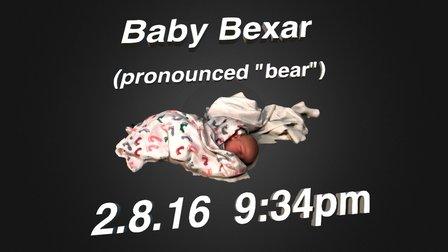 Baby Bexar 3D Model