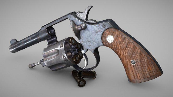 Colt Police .38 Special 3D Model