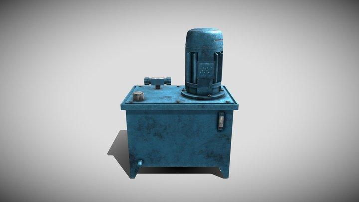 Hydraulic Power Pack 3D Model
