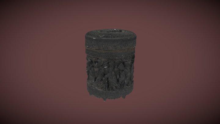 Chinsese Keepsake Pot, Guangdong, China 3D Model
