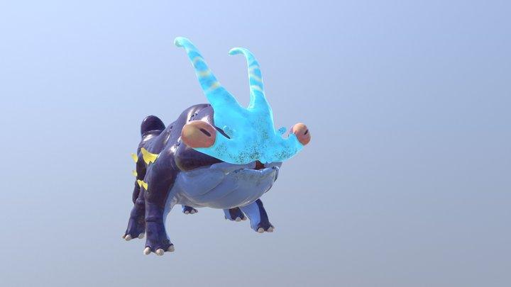 Kaiju shout 3D Model