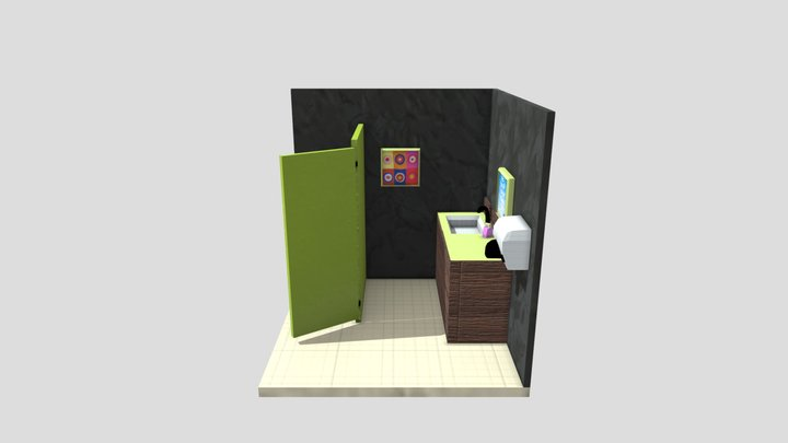 Public Restroom - AS1 Resit 3D Model