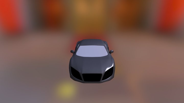 My improved car modelling 3D Model