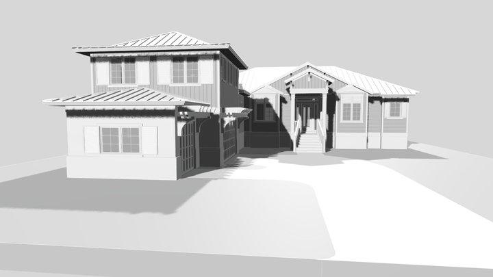Boca Grande Custom Residence V2 3D Model