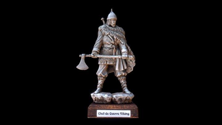 Chef de Guerre Viking 100mm 3D Model