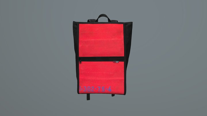 Feuerwear -- Rucksack Elliot UK 3D Model