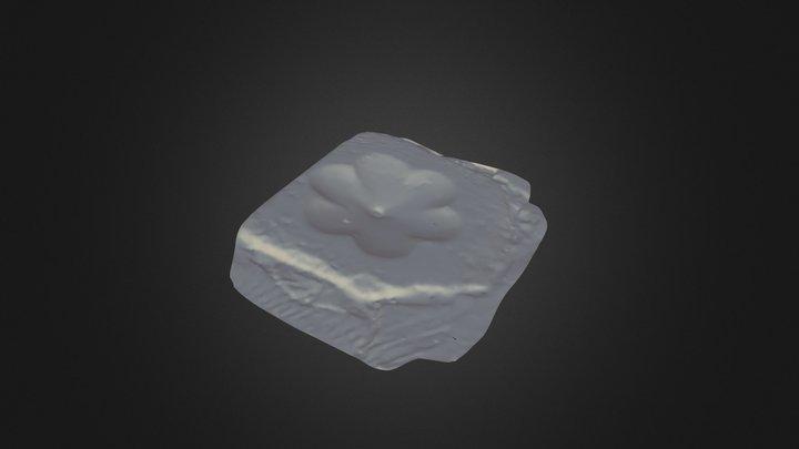 Font-exported 3D Model