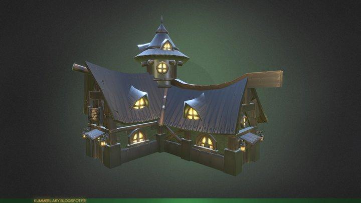 Old Tavern 3D Model