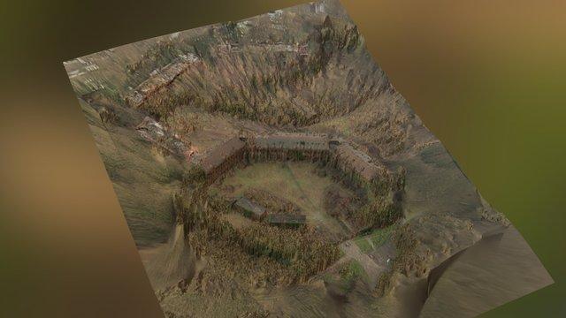 Fort de la Chartreuse 3D Model