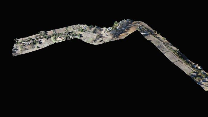 Association Road Elevation 3D Model