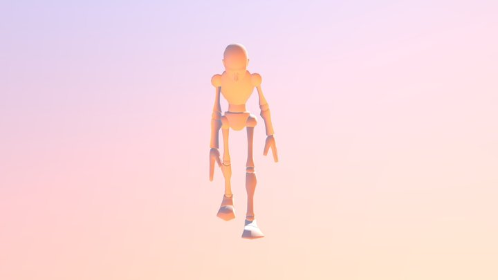 3d Aniamation Week 3 Second Draft 3D Model