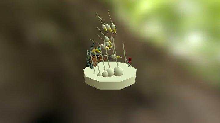 Diorama WIP 3D Model