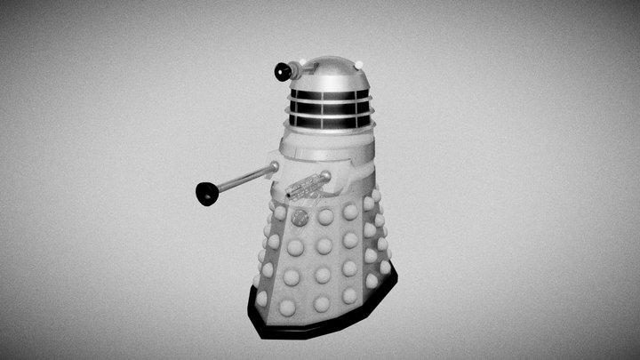 Dalek 1963 3D Model