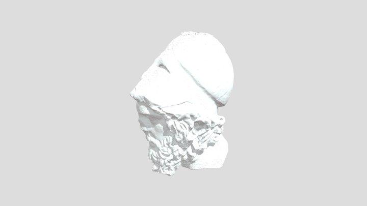 """Head of """"stratega"""" 3D Model"""