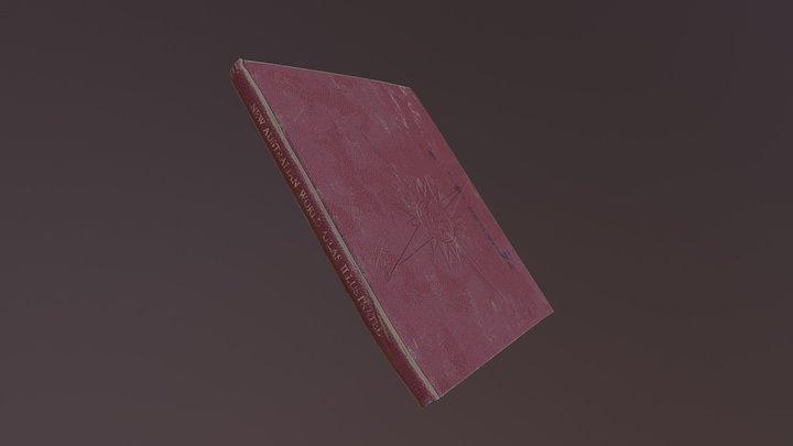 Vintage Atlas - Book 3D Model